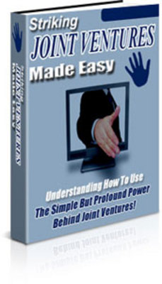 Product picture Striking Joint Ventures Made Easy
