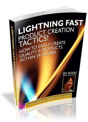 Product picture Lightning Fast Product Creation: Master Resell Rights