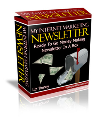 Product picture Internet Marketing Newsletters + Resale Rights